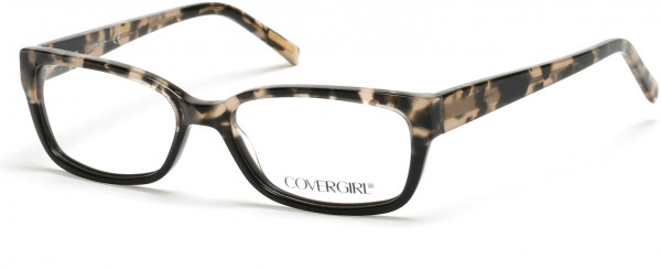 CoverGirl CG0536 Eyeglasses, 005 - Black/other